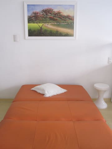 Sofa bed detail