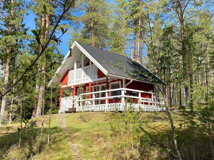 Oulu, mökki, oma ranta, cottage
