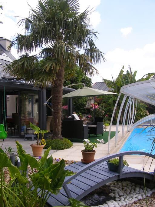 Au jardin d 39 eden chambres d 39 h tes beige guesthouse for Au jardin guesthouse