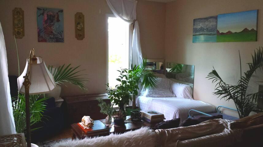 "The Casa Vida ""Agua Room"": A Bohemian Paradise"