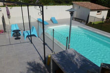 Chambre à la campagne avec piscine - Valergues - 獨棟
