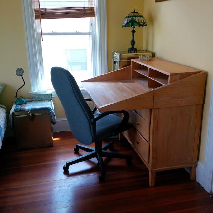 Dual desk/dresser
