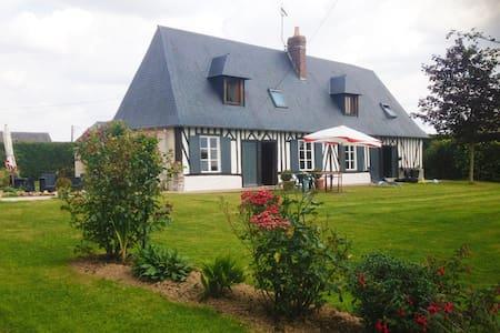Authentique maison normande proche Bernay (27) - Caorches-Saint-Nicolas - Haus
