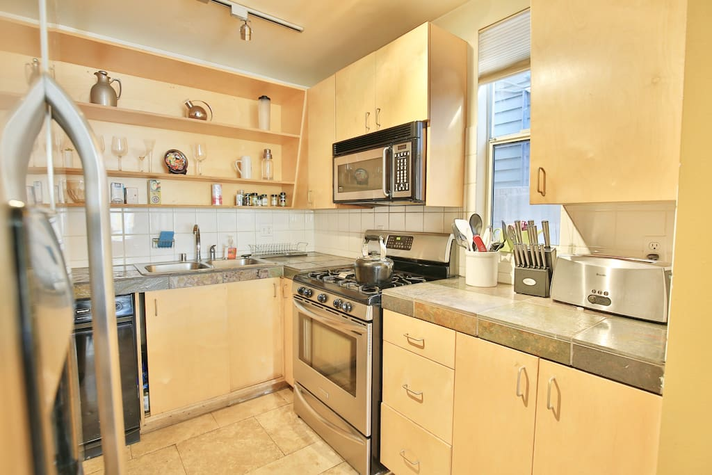 3 Bed Half: kitchen