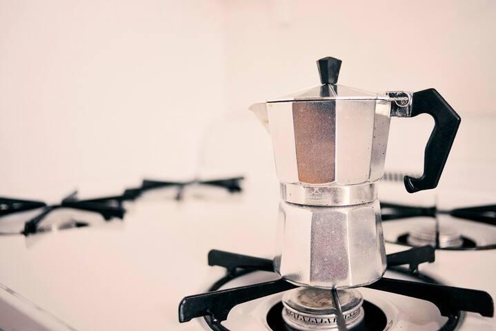 espresso, Italian style cafe :)