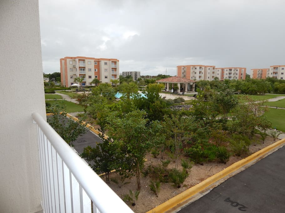 View from Balcony