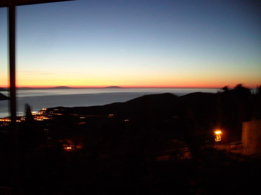 L'alba all' Elba...