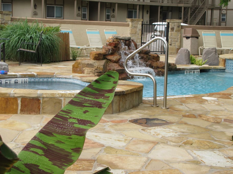Other pool area and Hot Tubs.