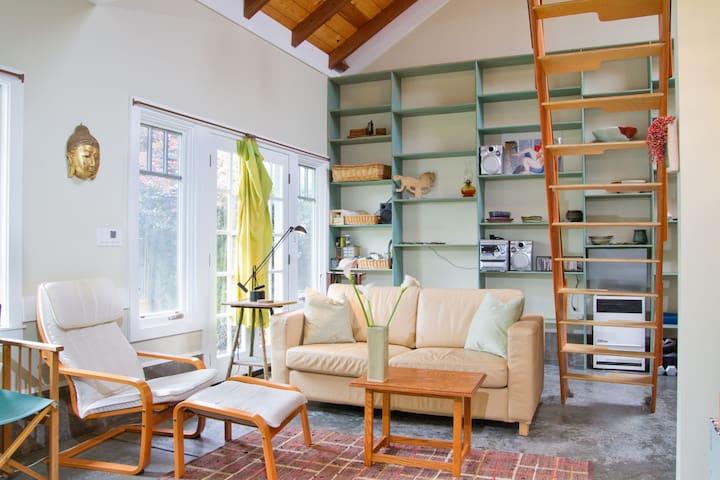 1- BR Architect Designed Studio - Berkeley - Cabaña
