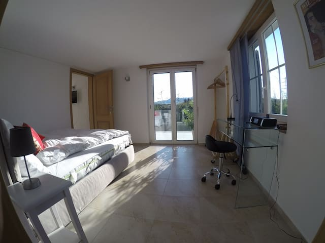1 bed room apartment with terrace - Frick - Leilighet