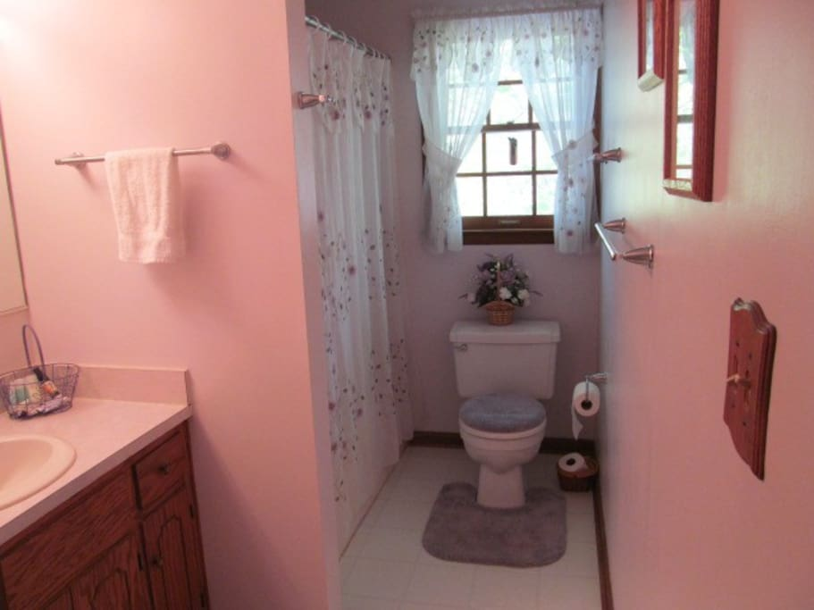 private full bathroom between bedrooms