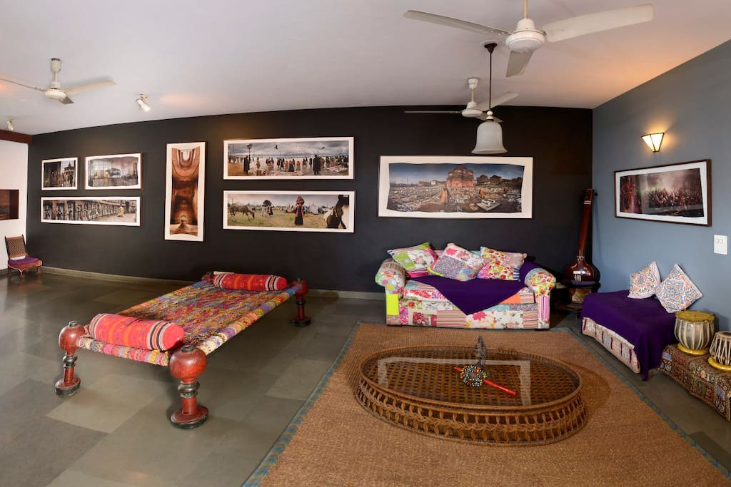 A photo-gallery in your own private living-room area