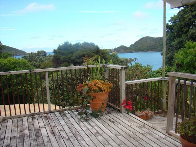 WhareAna in tranquil Whangaparapara - Great Barrier Island - Byt