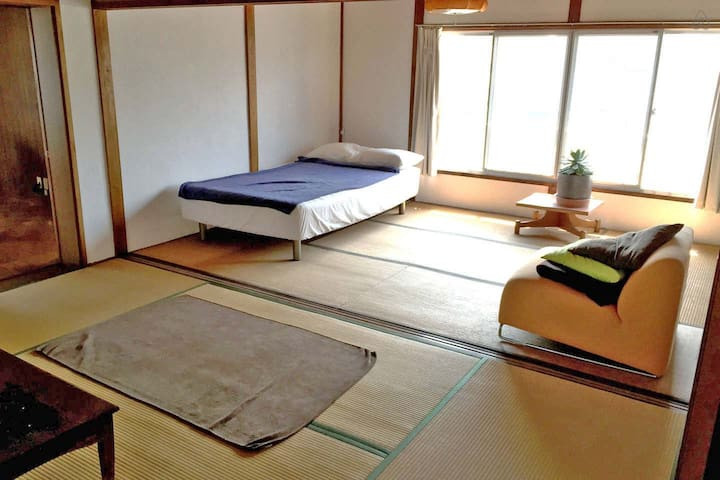 Enjoy the retro Japanese house life - Kita-ku Okayama