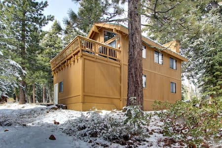 Newly Renovated Mountaintop Cabin - Tahoe City - Haus