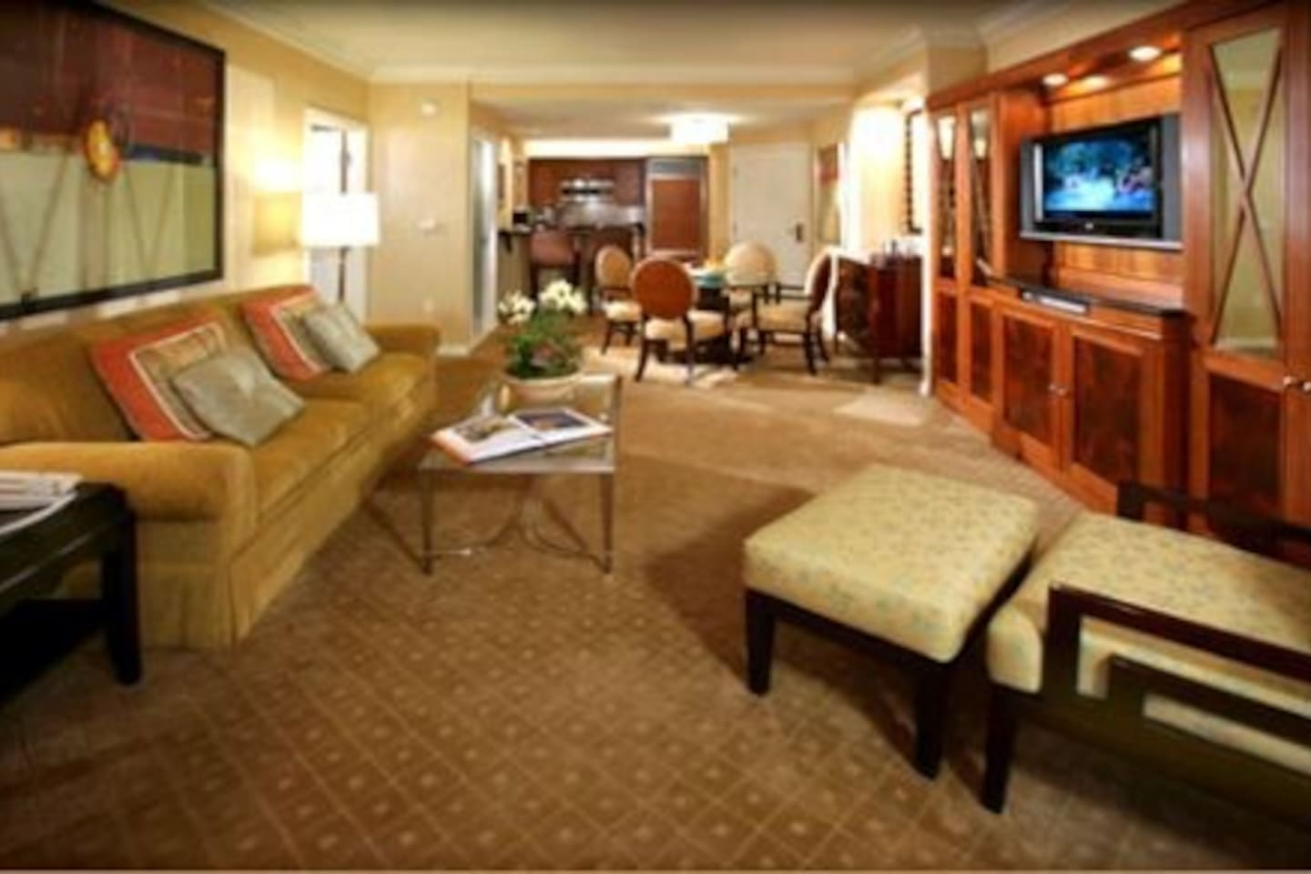 Mgm Grand Signature One Bedroom Balcony Suite Mgm Signature Hotel 1 Bedroom 2 Full Bathroom Condominiums For