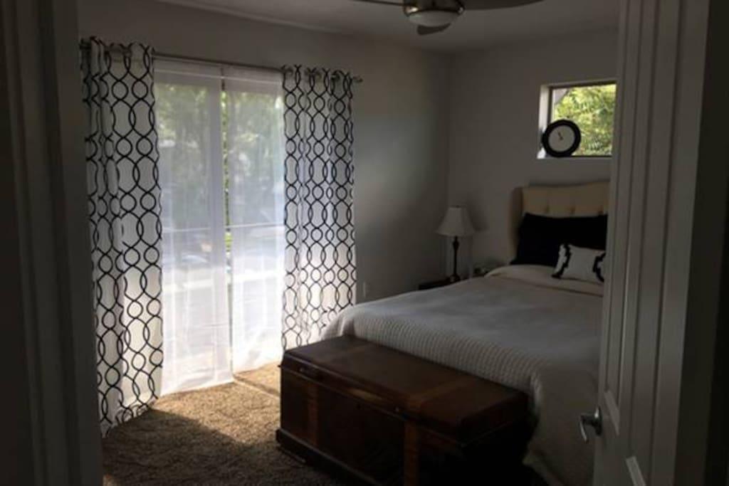 Bedroom #1 - Queen - includes TV