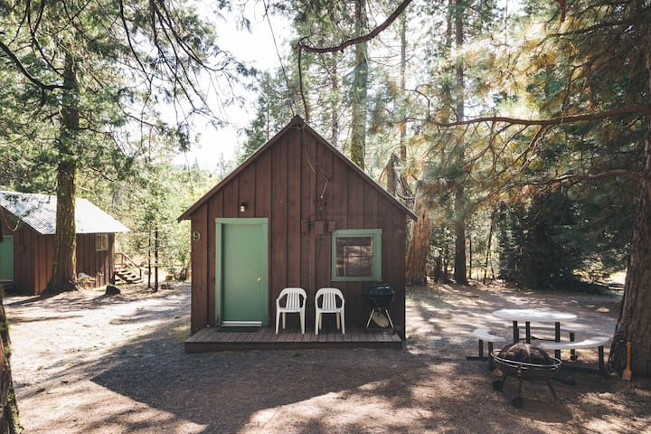 Cozy cabin in the woods by Lassen National Park