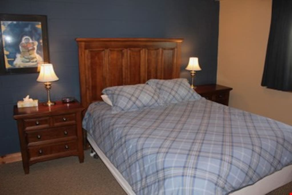 Get a great night's sleep in the comfortable beds.