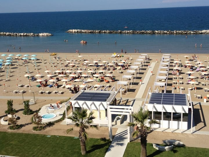 Relax 5 minutes from Rimini fair and near the sea