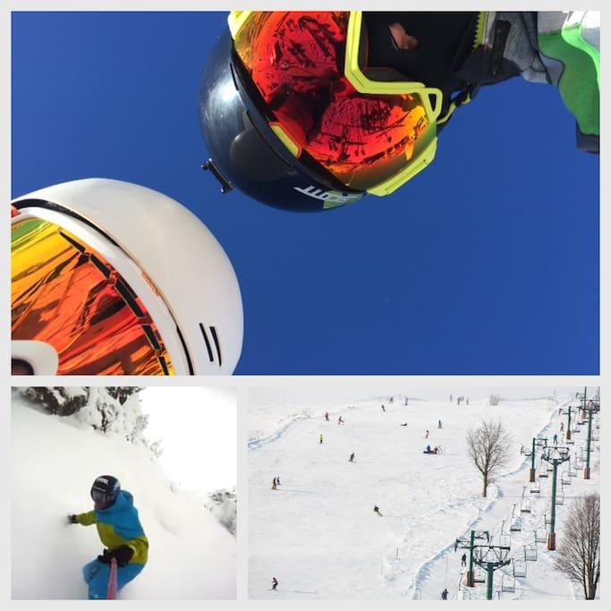Proche des stations de ski/surf