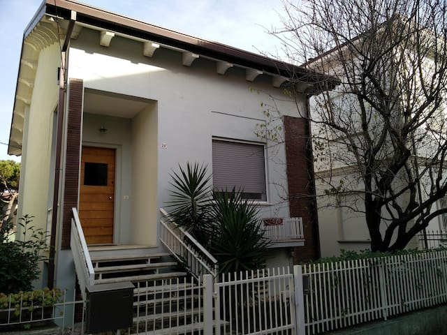 Cozy villa with garden in Cattolica