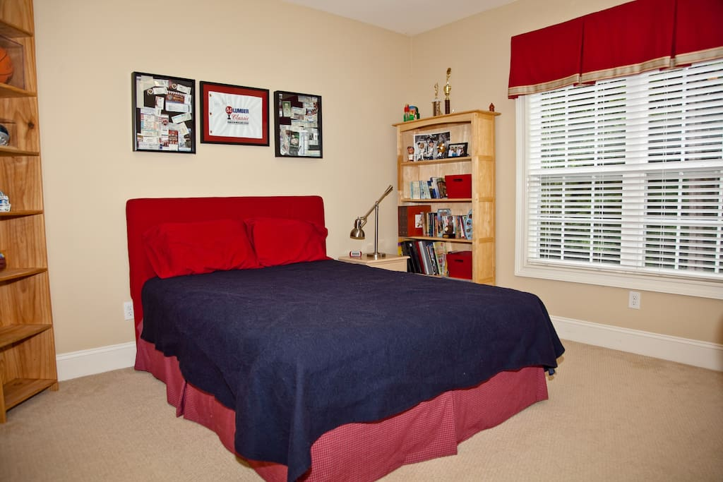 """""""Jack"""" bedroom with great view of backyard"""
