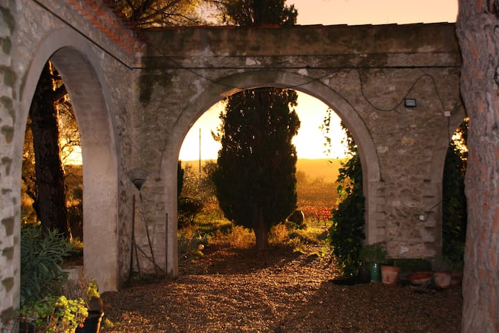 Monplezy, beautiful, famous winery - Pézenas - Casa