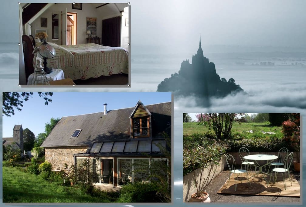 g 238 te de charme mont michel houses for rent in dragey ronthon basse normandie