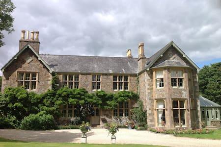 A Victorian Manor House - Sampford Courtenay Devon - Rumah
