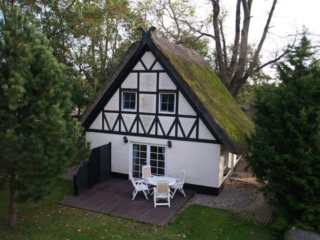 Abgelegenes Hühnerhaus mit Reetdach - Altenkirchen