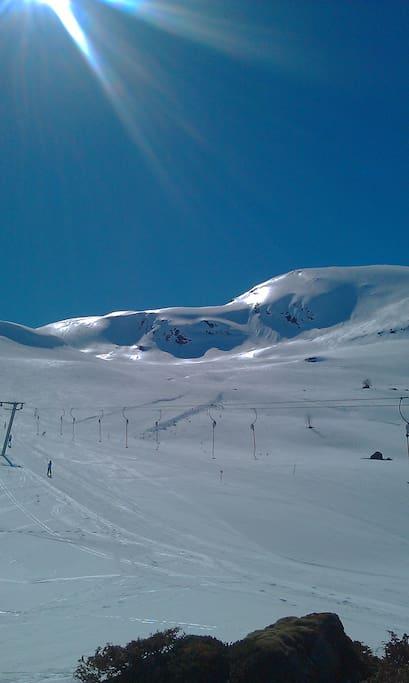Ski -lift area