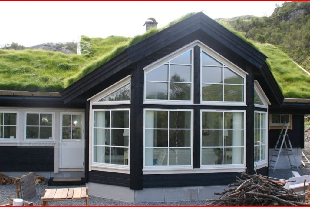 Cottage in spring