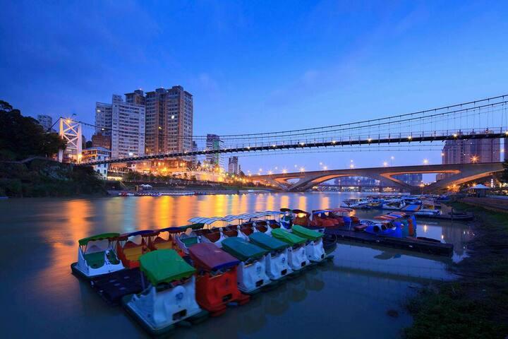 Taipei Lovely Home @MRT - Xindian District - Lakás