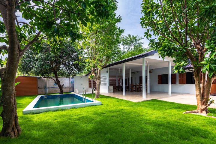Cozy Pool villa Bangsaray 5 mins to water park