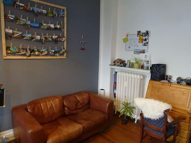 Big room in student flat, balcony, - คิล - บ้าน