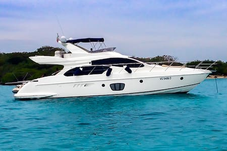 55ft Azimut Yacht - Rent your own Yacht for a day! - Carthagène