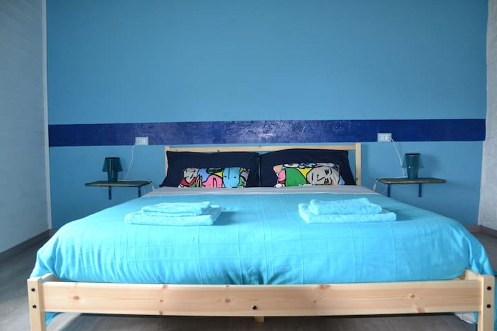 Peaceful Guesthouse Affittacamere - Blue room - Feglino - Huis