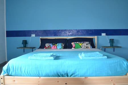 Peaceful Guesthouse Affittacamere - Blue room - Feglino - Haus