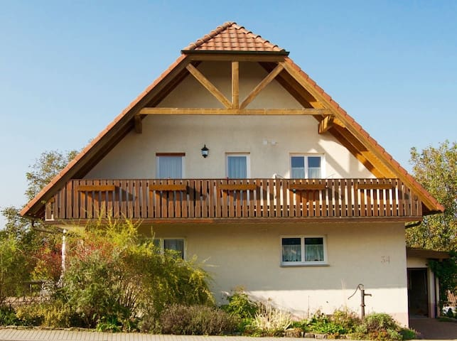 comfortable 2-bed room with sauna - Schefflenz - House