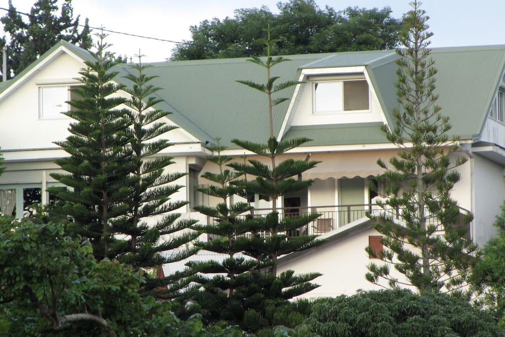 la maison verte appartements louer noum a province sud nouvelle cal donie. Black Bedroom Furniture Sets. Home Design Ideas