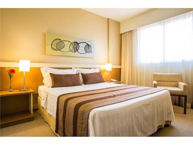 Astron Hotel Bauru - Premium - Cama Casal