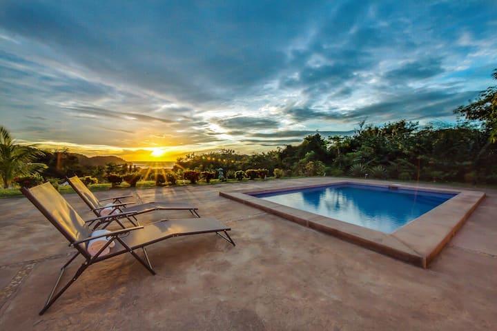 RANCHO RANA Sweet Ocean View & Private Pool