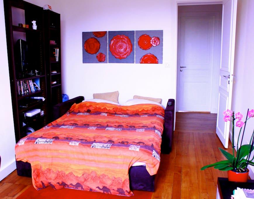 bel appartement partag vue sur bois paris 12 me appartements louer charenton le pont. Black Bedroom Furniture Sets. Home Design Ideas