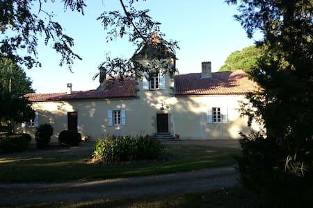Maison de maître avec piscine - Vielle-Tursan - House