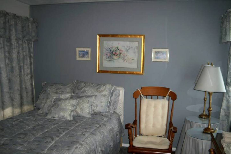 Large upper level room-shared bath