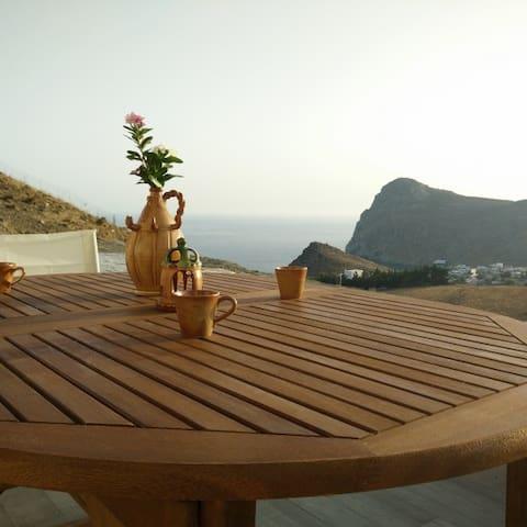 Kretische Idylle am Meer,4 Personen - Lentas - Lägenhet