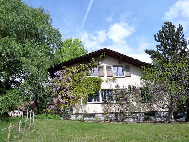 Room in the heart of the Swiss Alps - St-Pierre-de-Clages - Casa