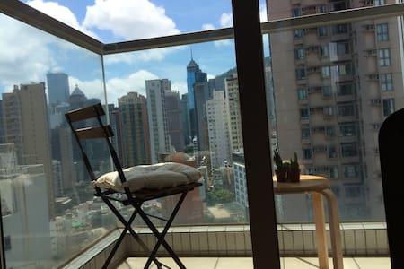 2BR, high floor, great view condo