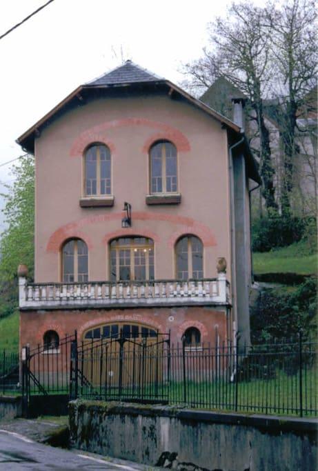 maison de face